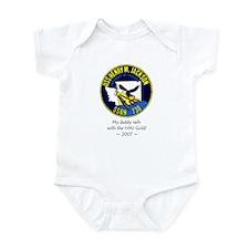 HMJ Gold Crew 2007 Infant Bodysuit