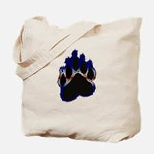 Leather Pride Glow Paw Tote Bag