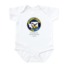 HMJ Blue Crew 2007 Infant Bodysuit