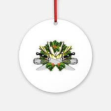 Chef Life Round Ornament