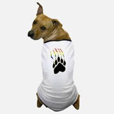 Gay Pride Paw Rip Dog T-Shirt