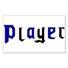 Leather Pride Player Rectangle Decal