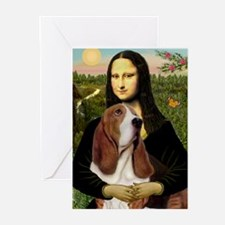 Unique Basset hounds Greeting Cards (Pk of 20)