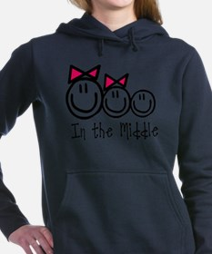 Cute Sibling Women's Hooded Sweatshirt