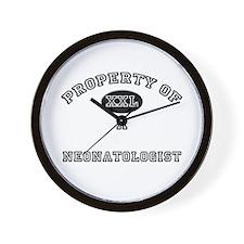 Property of a Neonatologist Wall Clock