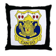 """15 Inf Reg """"CanDo"""" Throw Pillow"""