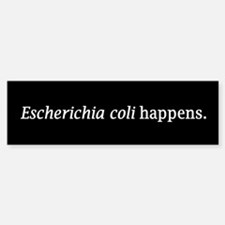 E. coli Bumper Bumper Bumper Sticker