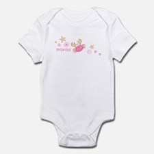 Hawaii Pink Crab Infant Bodysuit