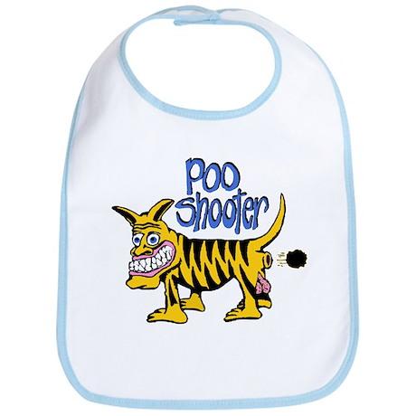 Poo Shooter Bib