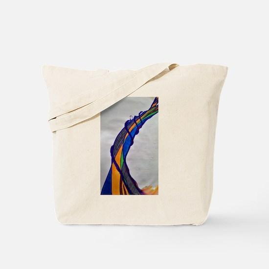 Bent Not Broken Tote Bag