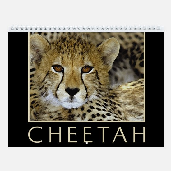 Cheetah Calendar
