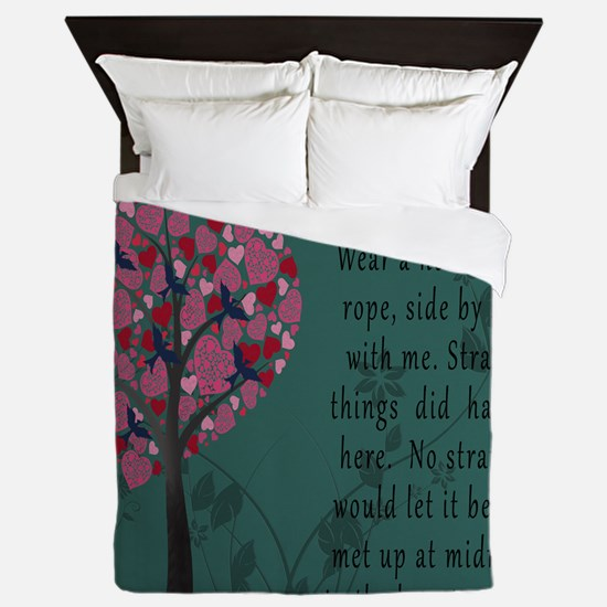 Hunger Games Hanging Tree Queen Duvet