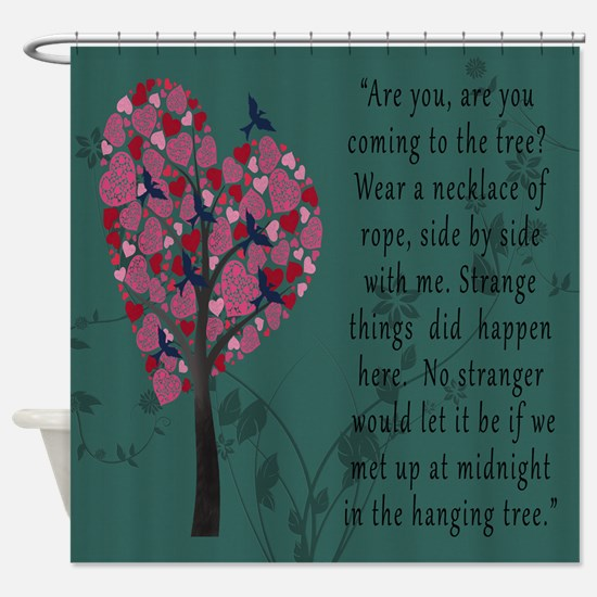 Hunger Games Hanging Tree Shower Curtain