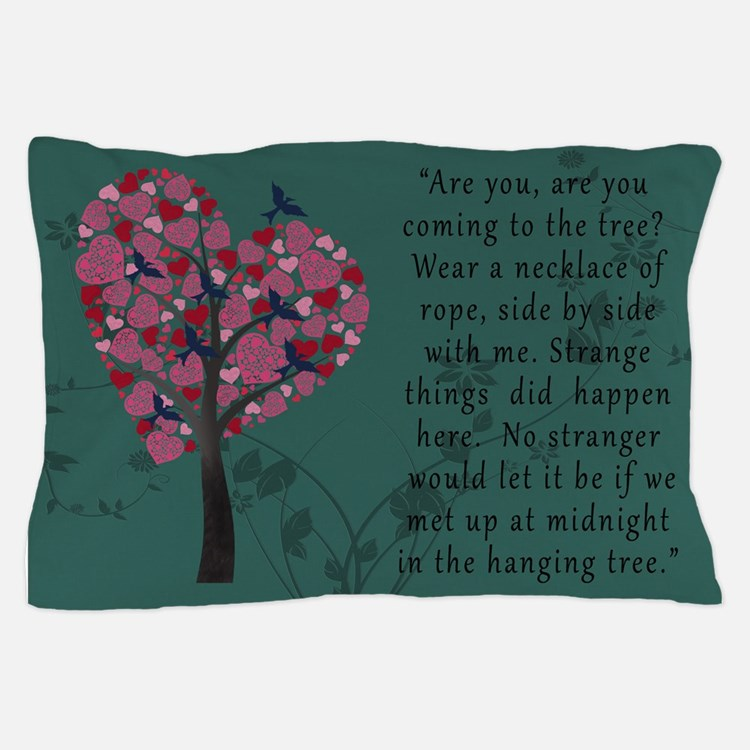 Hunger Games Hanging Tree Pillow Case