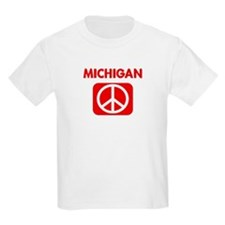 MICHIGAN for peace T-Shirt