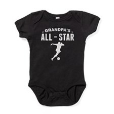 Grandpa's All-Star Soccer Baby Bodysuit