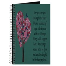 Hunger Games Hanging Tree Journal