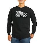 Skadhi Fish Long Sleeve Dark T-Shirt