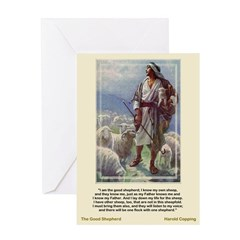 The Good Shepherd-Copping-Greeting Card