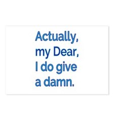 Actually, My Dear Postcards (Package of 8)