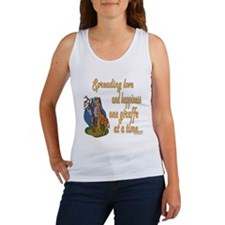 Spreading Love Giraffes Women's Tank Top