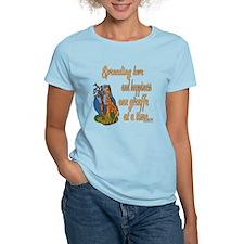 Spreading Love Giraffes T-Shirt