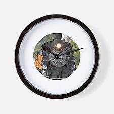 Cute Steam engine Wall Clock