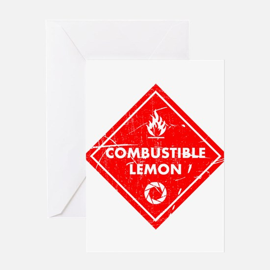 Combustible lemon - Portal 2 Greeting Cards