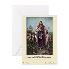 The Good Shepherd-Plockhorst-Greeting Card