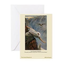 The Good Shepherd-Soord-Greeting Card