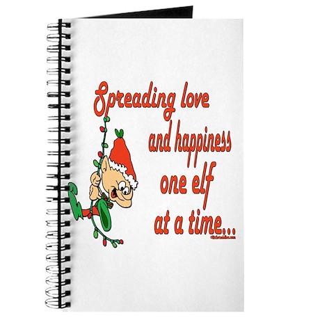 Spreading Love Elves Journal