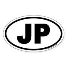 JP Euro Style Oval Decal