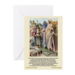 LoavesandFishes-Copping-Greeting Cards (Pk of 10)