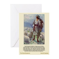 Good Shepherd-Copping-Greeting Cards (Pk of 10)