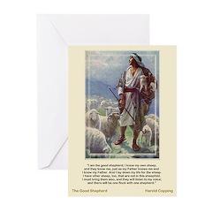 Good Shepherd-Copping-Greeting Cards (Pk of 10)