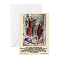 Prodigal Son-Copping-Greeting Cards (Pk of 10)