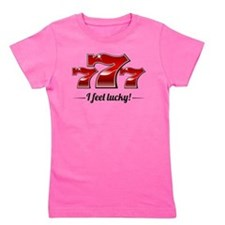 Cute Gambler Girl's Tee