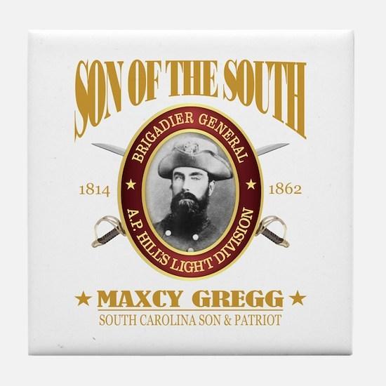 General Maxcy Gregg Tile Coaster