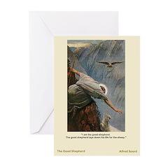 Good Shepherd-Soord-Greeting Cards (Pk of 10)