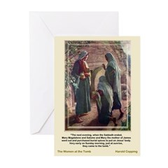 Women at the Tomb-Coppin Greeting Cards (Pk of 10)