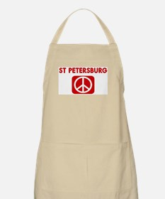 ST PETERSBURG for peace BBQ Apron