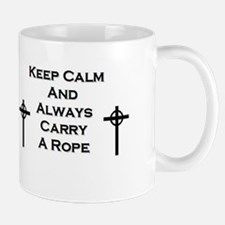 Keep Calm and Carry Rope Mugs