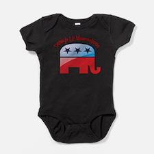 Cute Weepublican Baby Bodysuit