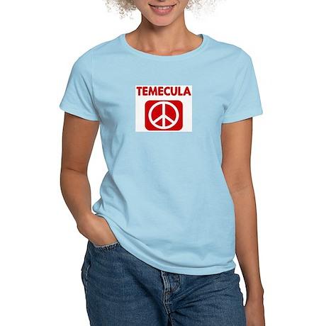 TEMECULA for peace Women's Light T-Shirt