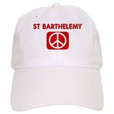 ST BARTHELEMY for peace Baseball Cap