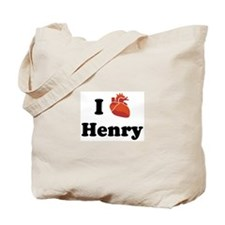 I (Heart) Henry Tote Bag