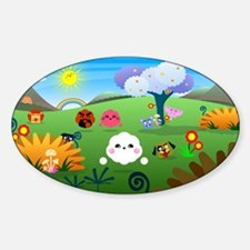 Happy Colorful Planet 01 Decal