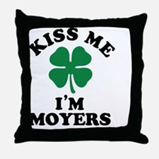Funny Moyers Throw Pillow