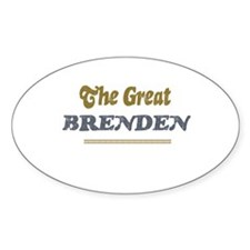 Brenden Oval Decal