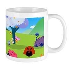 Happy Colorful Planet 02 Mugs